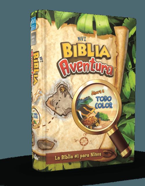 Biblia Aventura NVI para niños y niñas