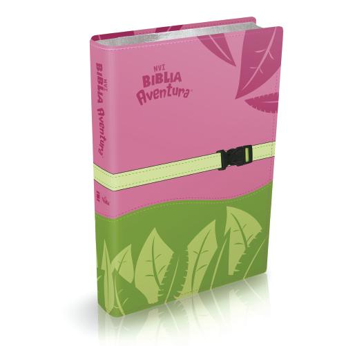 Biblia Aventura NVI Rosa para niñas