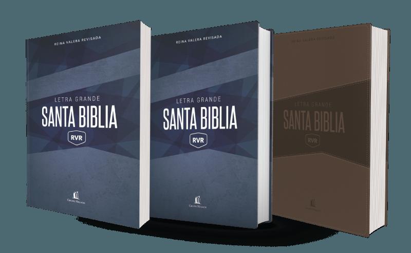 biblia rvr letra grande reina valera revisada con comfort print