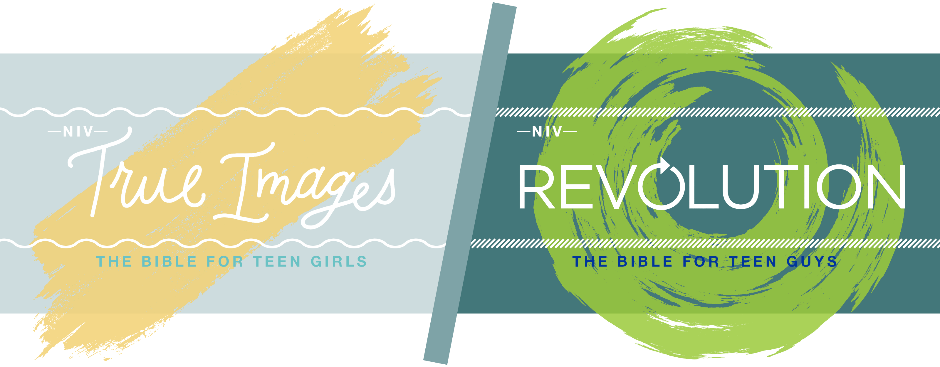 NIV Bibles for Teens: True Images & Revolution - Marketing Pages