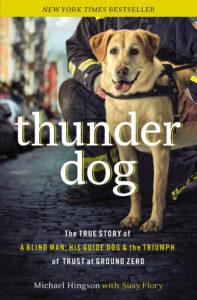 thunder dog dog of 9/11 hero dog September 11 story dog books