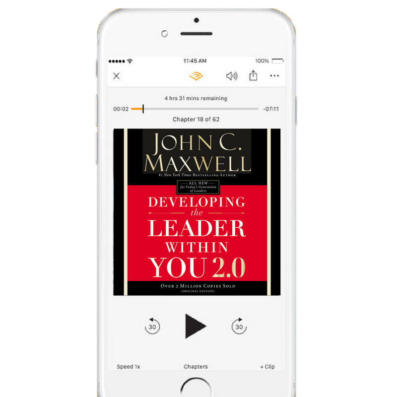 LISTEN NOW: Developing the Leader Within You 2.0