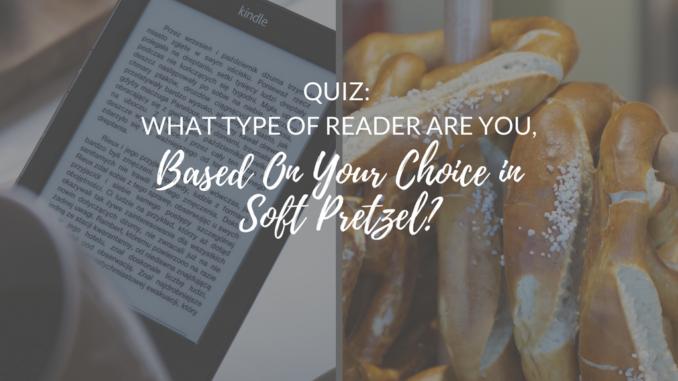 pretzel quiz, book quiz, reader quiz