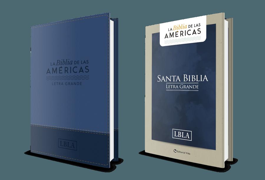 la biblia de las americas letra grande editorial vida