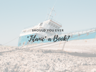 book, titanic, titanic-ing