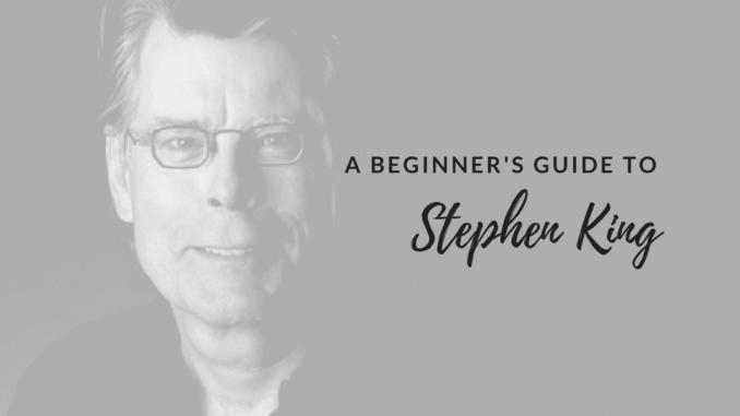 Stephen king book list, where to start reading Stephen king, first Stephen king book