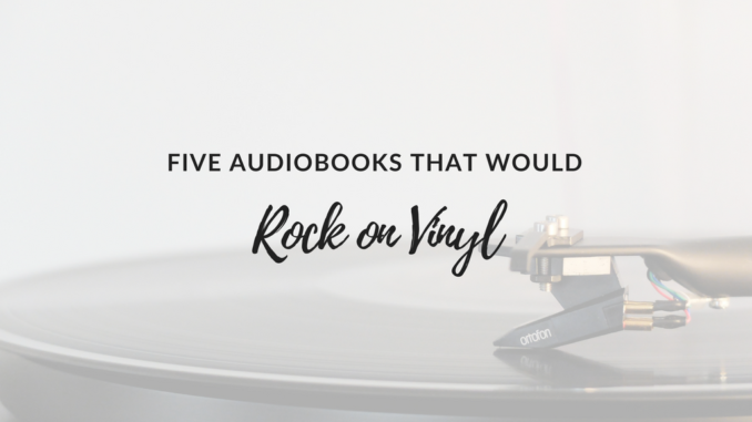 audiobooks on vinyl