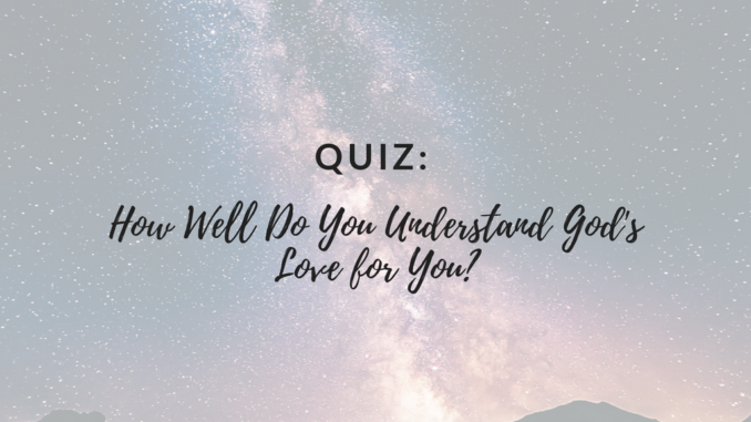 I love you quiz