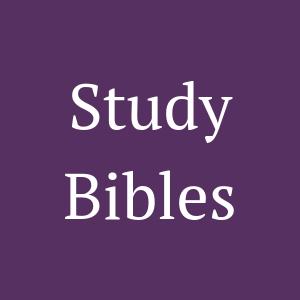 Zondervan Study Bibles