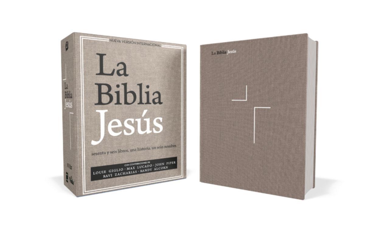 biblia jesus nvi giglio lucado tela gris