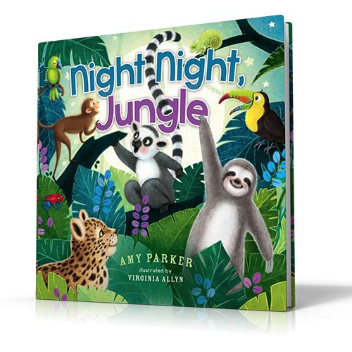 Night Night Jungle by Amy Parker