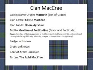 Doon Clan National Tartan Day