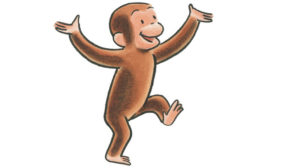 curious george mandela effect