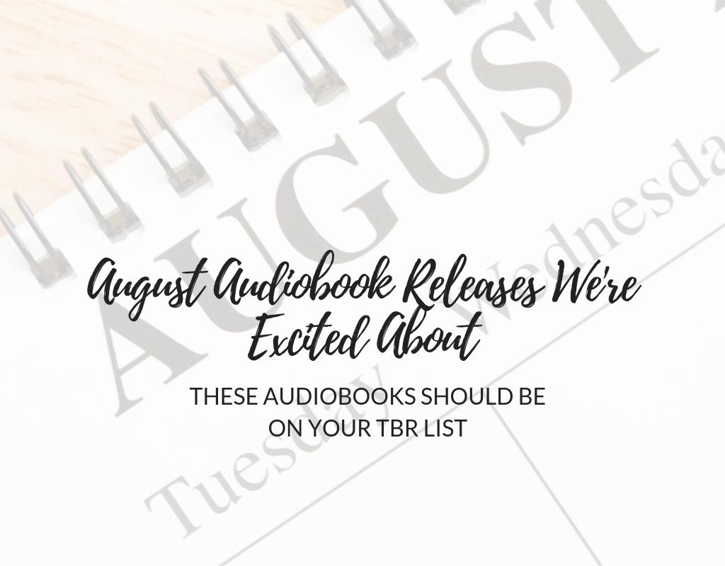 August-Audiobook releases