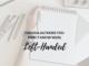 Left-hander's Day left-handed