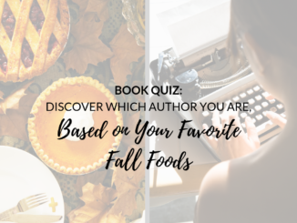 Book Quiz Fall Foods Author