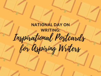 National Day on Writing posters