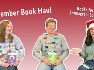 December book releases book haul