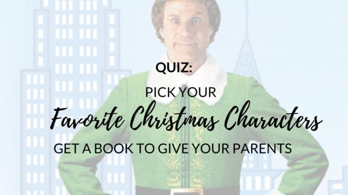 quiz favorite christmas characters