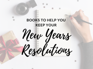 books to help you keep your new years resolutions