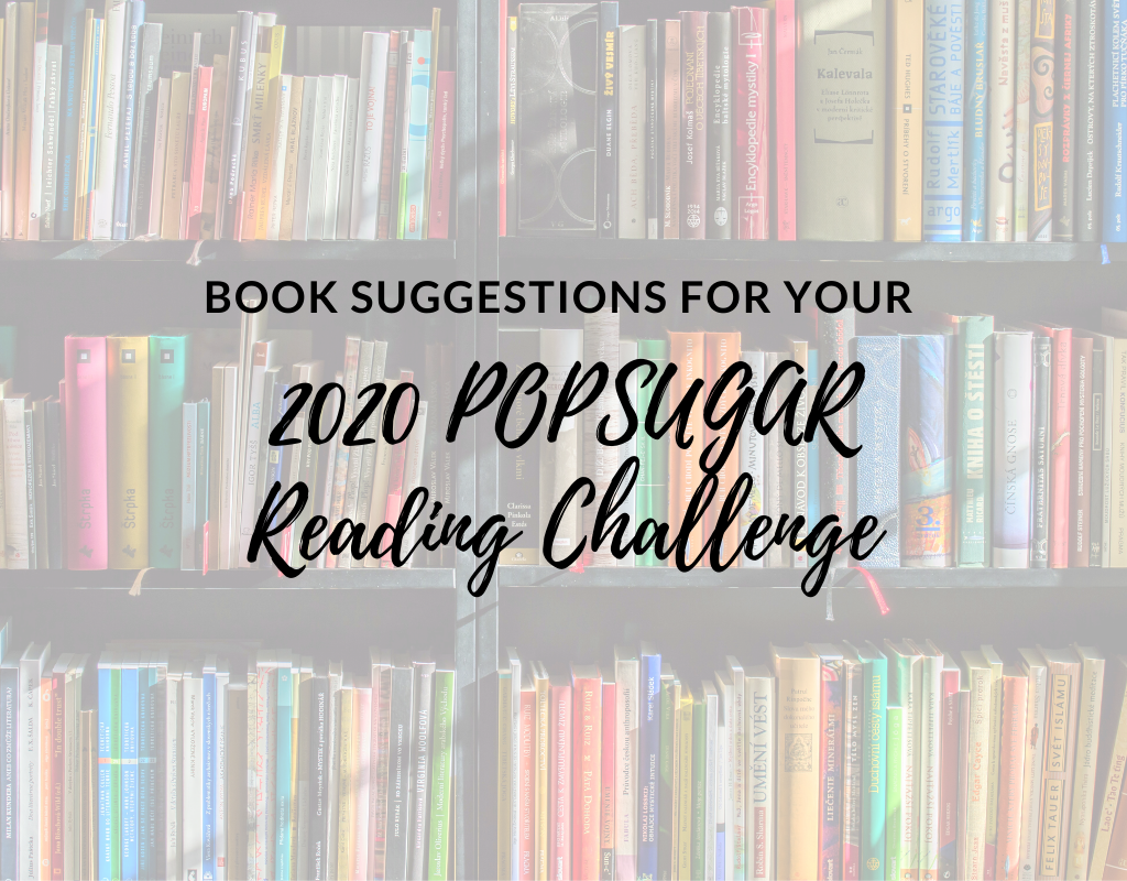 book suggestions for 2020 Popsugar reading challenge