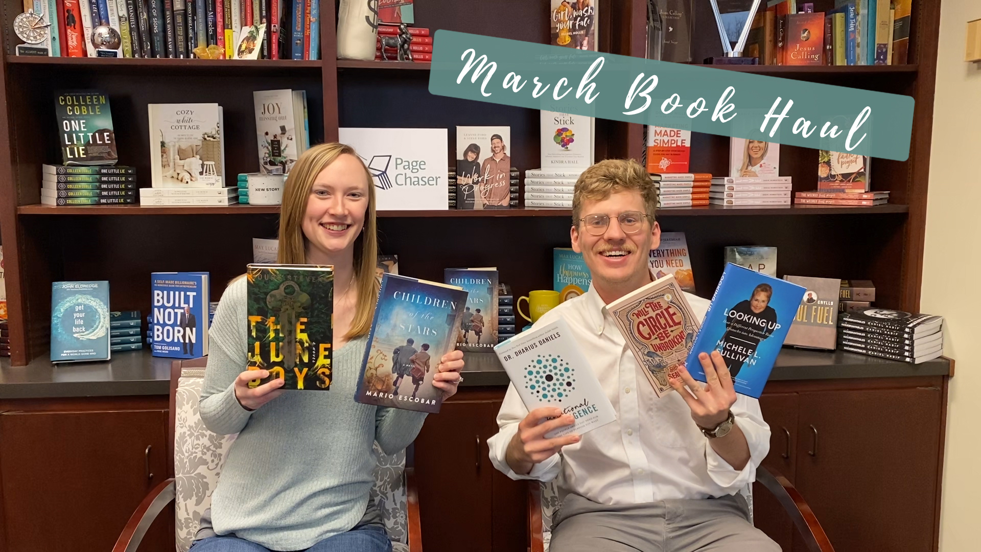 march book releases book haul