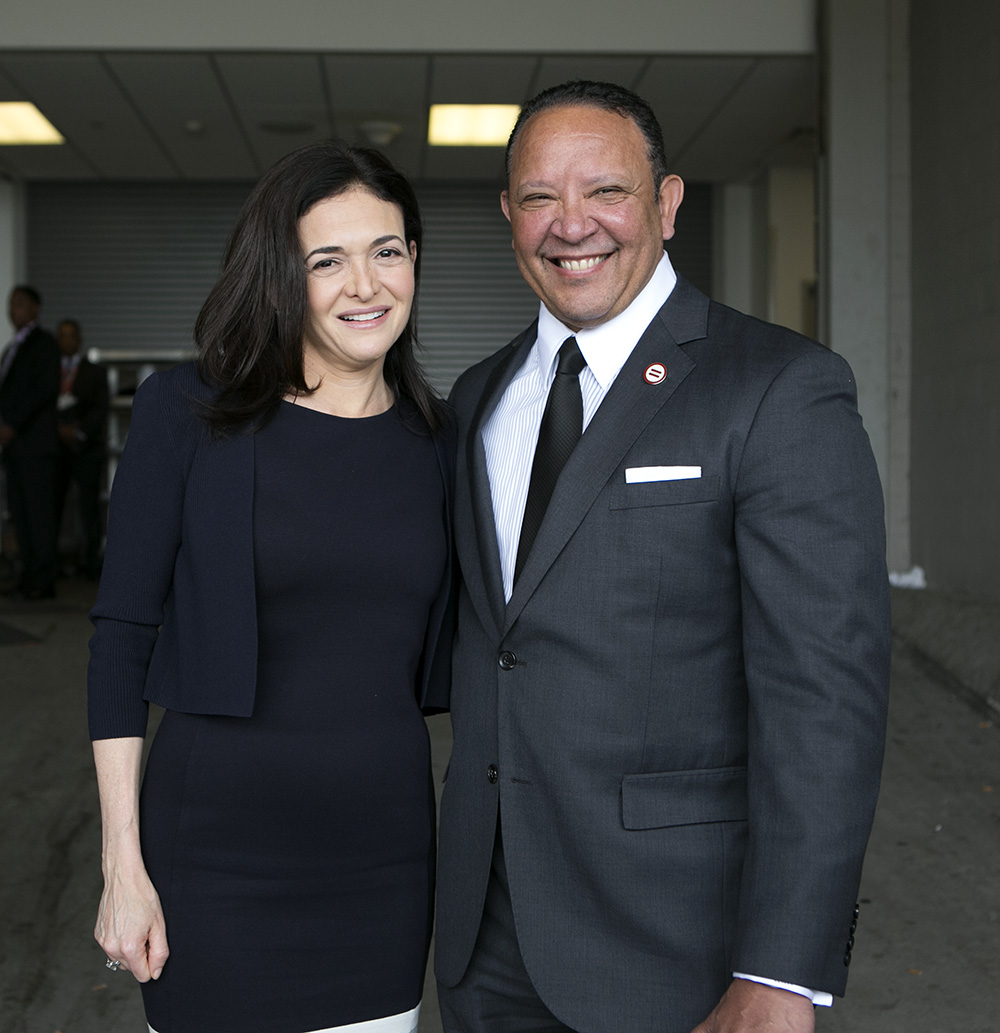 COLUMBUS, OH AUGUST 01, 2018-  National Urban League Opening Lucheon with Sheryl Sandberg, Wednesday, August 01, 2018 at the Greater Columbus Convention Center in Columbus, Ohio. (Photo by Lawrence Jackson/National Urban League)