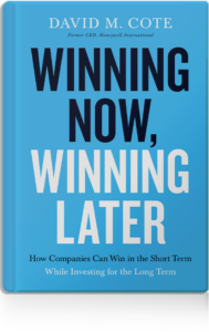 Winning Now, Winning Later book cover by David M. Cote