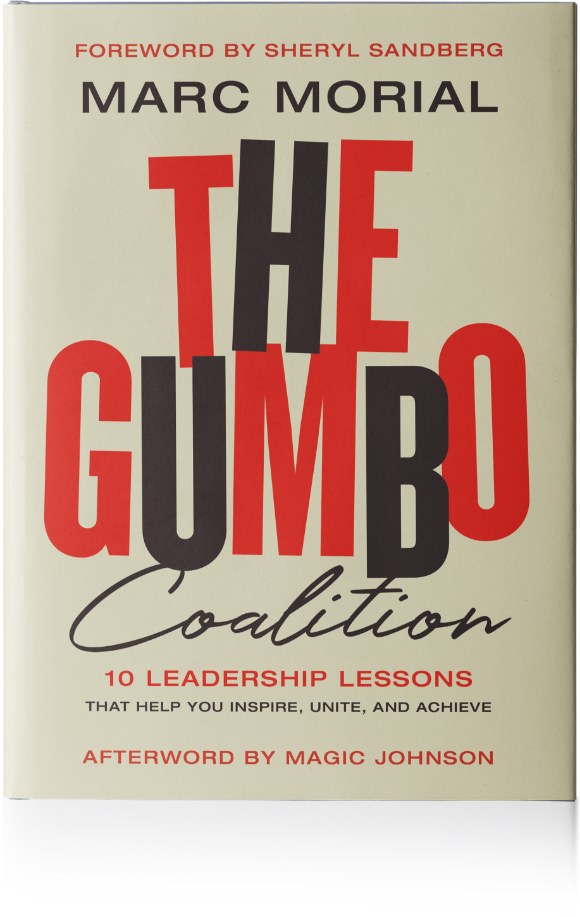 The Gumbo Coalition 10 Leadership Lessions by Marc Morial book cover