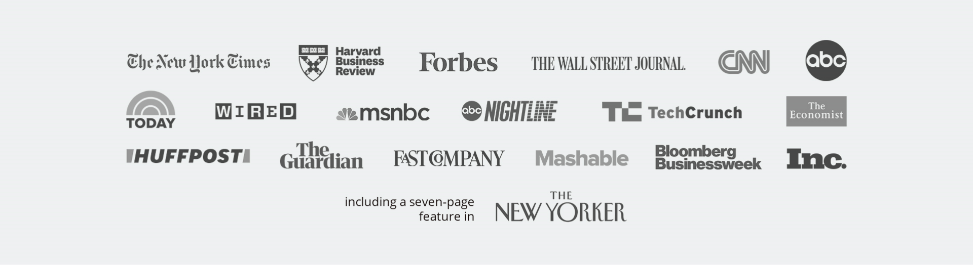 List of logos from major news outlets