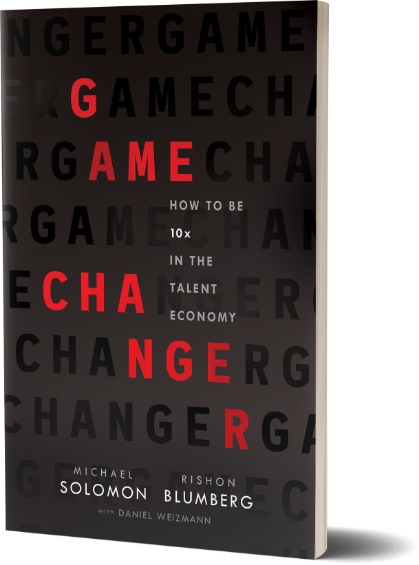 Game Changer book cover by Michael Solomon and Rishon Blumberg