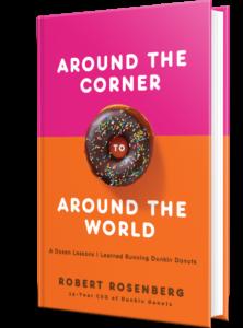 Around the Corner to Around the World by Robert Rosenberg book cover