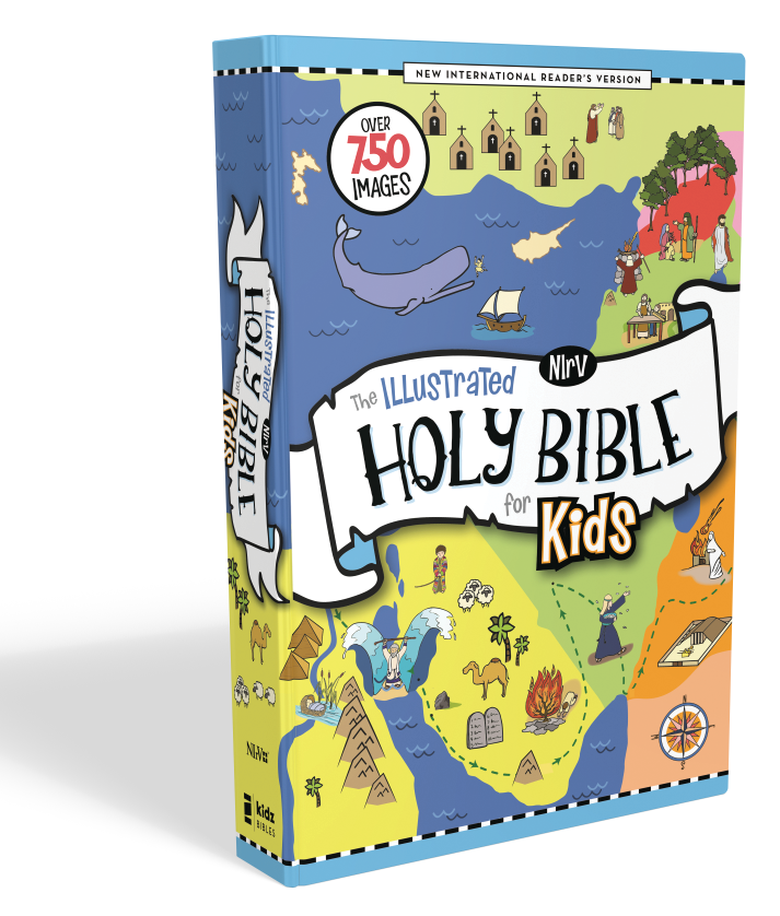 NIrV Illustrated Holy Bible for Kids - Over 750 Images ...