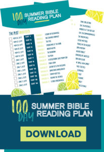 Zonderkidz Summer Bible Reading - Marketing Pages