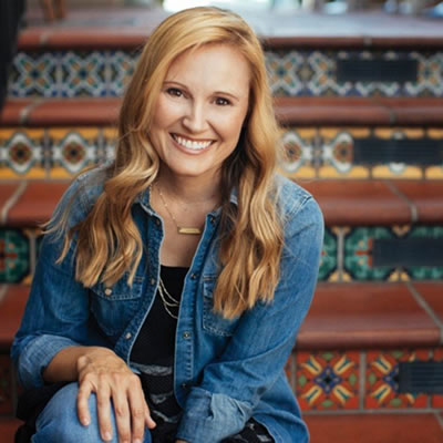 Jennie Allen endorses Unshakable Hope by Max Lucado