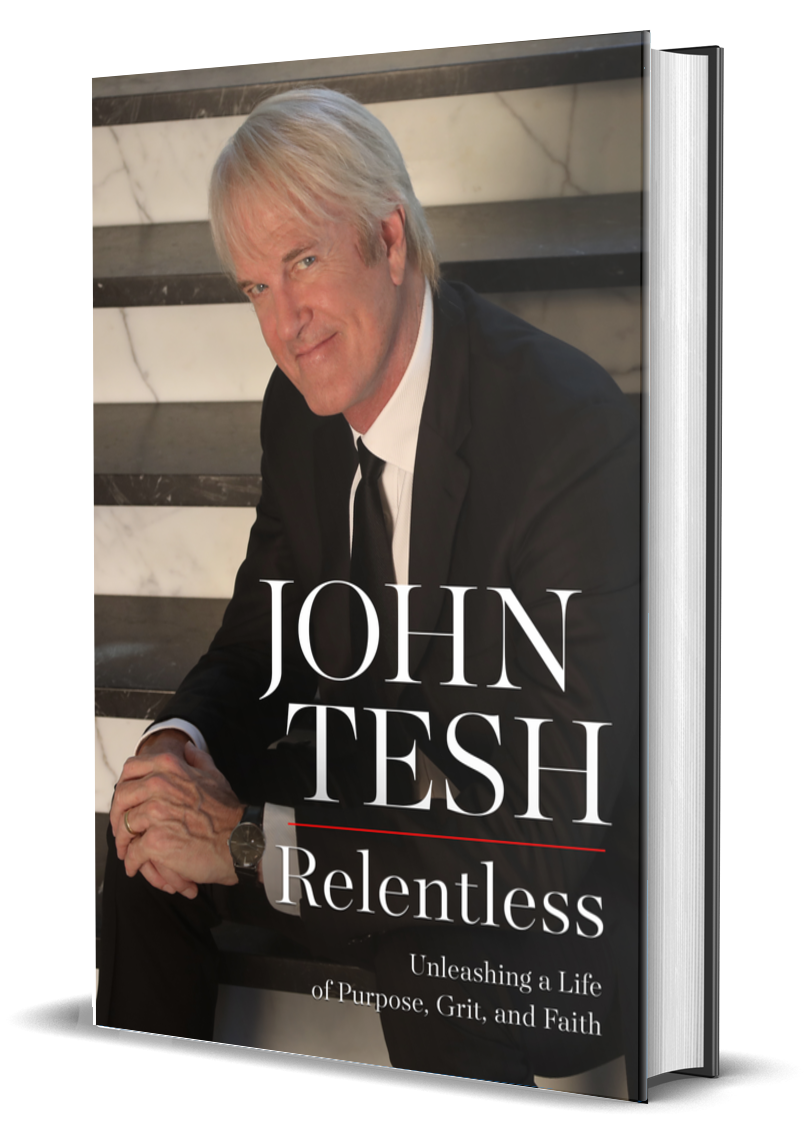 3D rendering of Relentless book