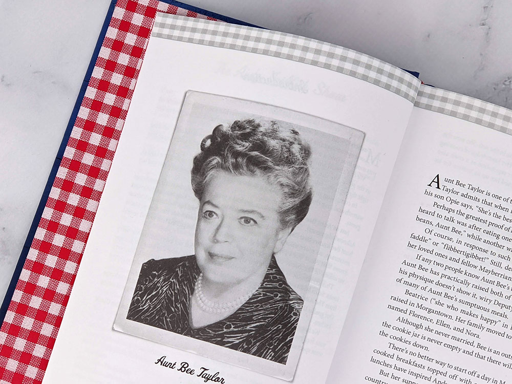 about aunt bee in aunt bee's mayberry cookbook